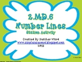 2.MD.6 Number Lines Station Activity