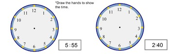 2.MD.7 Telling Time Second Grade