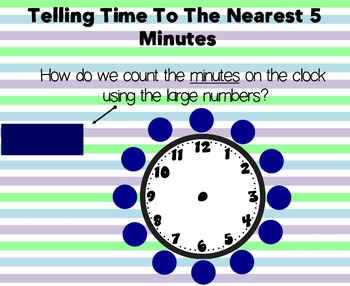 2MD7 Telling Time To the Nearest 5 Minutes
