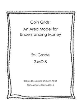 2MD8 Coin Grids: An Area Model for Understanding Money