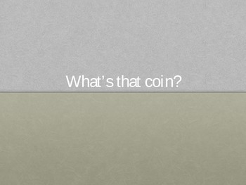 2.MD.8 Coin Identification PowerPoint