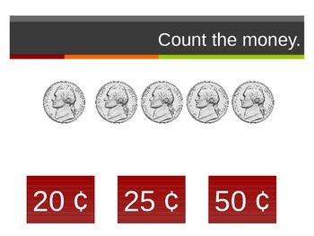 2.MD.8 Counting Same Currency Interactive PowerPoint