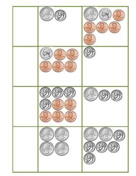 2.MD.8 Money Match