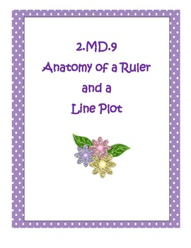 2.MD.9 Anatomy of a Ruler and Line Plot in Second Grade