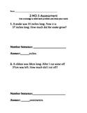 2.MD.B.5 Math Assessment