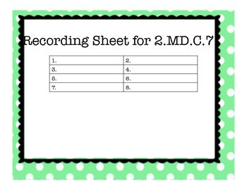 2.MD.C.7 Task Cards