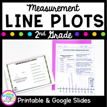 Line Plots With Measurement Data- 2nd Grade 2.MD.D.9