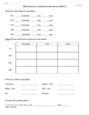 (2.NBT.1)  Place Value - 2nd Grade Common Core Math Worksheets -1st 9 Weeks