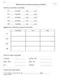 (2.NBT.1)  Place Value - 2nd Grade Common Core Math Worksheets Part A
