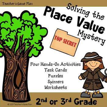 Place Value Bundle - Task Cards, Spinners, Puzzles & Worksheets