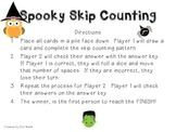 2.NBT.2 Spooky Skip Counting