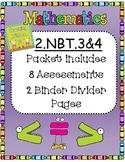 2.NBT.3 & 2.NBT.4 Math Assessements/Practice