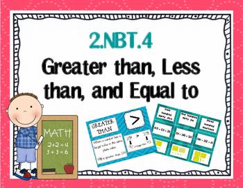 2.NBT.4 Greater Than Less Than