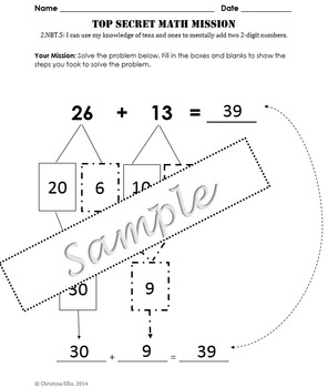 2.NBT.5 Adding Two 2-Digit Numbers