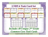 2.NBT.6 2nd Grade Math Task Cards -  2 NBT.6 Add Four Two-Digit Numbers