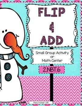 2.NBT.6 - 2nd Grade Winter Math Center