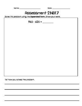 2.NBT.7 Assessments