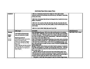 2.NBT.A.1 Lesson Plans and Activities