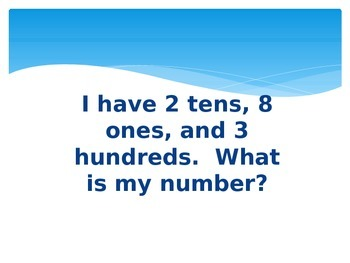 2.NBT.A.1. Place Value Palooza Power Point Game