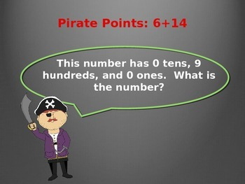 2.NBT.A.1.  Three-Digit Place Value Power Point Game