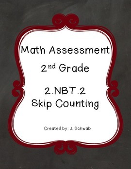 2.NBT.A.2 Skip Counting Assessment (Second Grade)