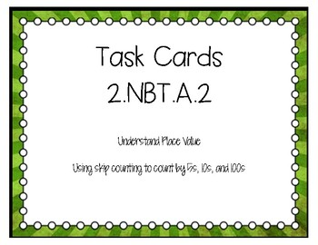 2.NBT.A.2 Task Cards