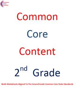 2.NBT.A.3, 2.NBT.A.4 Second Grade Common Core Math Worksheets 2.NBT.3, 2.NBT.4