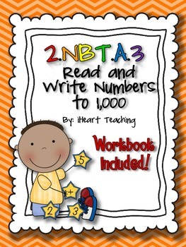 Read and Write Numbers to 1,000 2.NBT.A.3 {Common Core Bundle and Assessment}