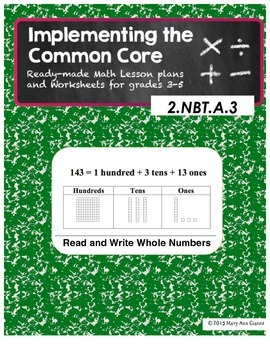 2.NBT.A.3 Read and Write Whole Numbers