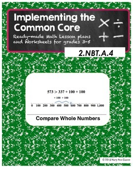 2.NBT.A.4 Compare Whole Numbers