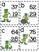 2.NBT.B.5 Subtracting 2 Digit Numbers St. Patty Frogs Scoot Game