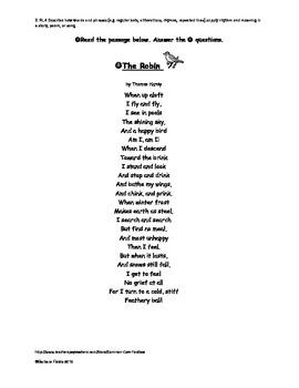 Poetry Assessment #2