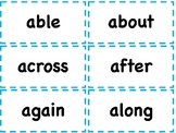 2ND GRADE HIGH FREQUENCY WORD CARDS SIGHT WORDS OR FLASH C