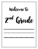 2ND GRADE | Bulletin Board Printables | Classroom Organization