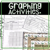 GRAPHING ACTIVITIES, WORKSHEETS, GAMES, LESSON PLANS, ASSESSMENTS AND MORE