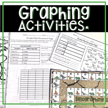 2ND GRADE CCSS GRAPHING 2 WEEK UNIT DINOSAUR THEMED