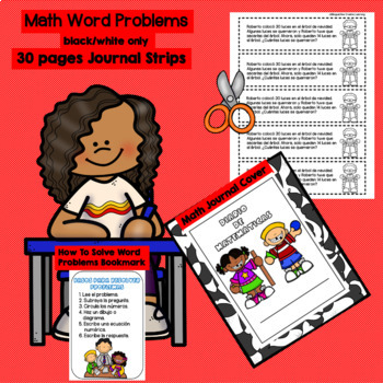 DECEMBER - 2ND GRADE MATH WORD PROBLEMS IN SPANISH - CCSS 2.0A.1