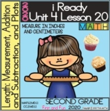 2ND GRADE MEASUREMENTS IN INCHES AND CENTIMETERS iREADY MATH UNIT 4 LESSON 20