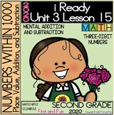 2ND GRADE MENTAL ADDITION AND SUBTRACTION iREADY MATH UNIT 3 LESSON 15