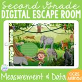 2ND GRADE Math Measurement & Data Digital Escape Room Game l Distance Learning