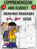 {$2 FLASH DEAL}2ND-3RD GRADE READING COMPREHENSION PASSAGES AND QUESTIONS RL.2.1