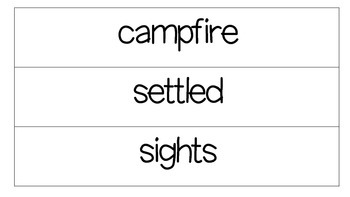 2ND Grade CKLA Domain 7 Vocabulary Word Wall Cards