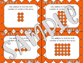2ND Grade Operations and Algebraic Thinking Task Cards - ALL Standards