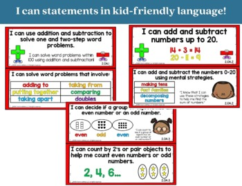 Addition and Subtraction Bundle 2nd Grade