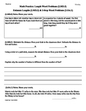 (2.OA.1,2.MD.5,2.MD.3)Word Problems [2 Step]-2nd Grade Math Worksheets 4th9Weeks