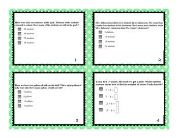2.OA.A.1 Task Cards