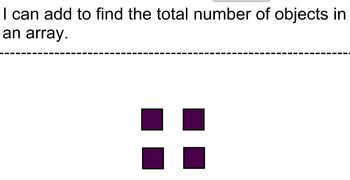 2.OA.C.4 Using Addition to Represent an Array
