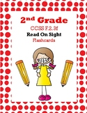 2nd 2.50-2.99 Read On Sight Flash Cards (Aligned to American Reading Co IRLA)