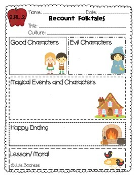 2 rl 2 fairytales and folktales graphic organizer by common core kingdom. Black Bedroom Furniture Sets. Home Design Ideas