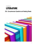 2SL - Comprehension Questions and Reading Sheets